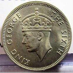Malaya 20 Cent. 1948. CUNI. 5,6gr. Ø23mm. SC. (Lev.patina). KM. 9