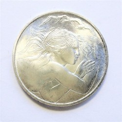 Marino.-San 1000 Lira. 1979. AG. 14,6gr. Ley:0,835. (En estuche Oficial). (Union Europea). Ø31,40mm. SC. (Lev.Pátina). KM. 98