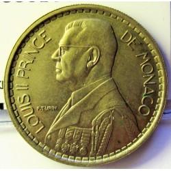 Monaco 20  Francos. 1947. (a)-Paris. CUNI. 9,8gr. Ø30mm. EBC+/SC-. KM. 124