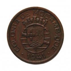 Mozambique 20  Ctvo.  1941. AE. 5gr. Ø25mm. EBC+/SC-. MUY ESCASO/A. asi. KM. 71