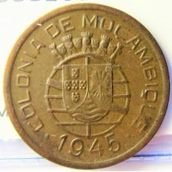 Mozambique 50  Ctvo.  1945. AE. 4gr. Ø23mm. EBC+. KM. 73