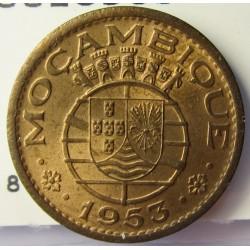 Mozambique 50  Ctvo.  1953. AE. 4gr. Ø20mm. SC. (Tono original). KM. 81