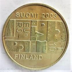 Finlandia 10 €. 2003. AG. 27gr. Ley:0,925. (Anders Chydenius). Ø38mm. SC. KM. 110