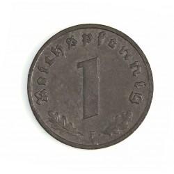 Alemania.-Ocup.Aliada-(1945/48) 1 Reichspfennig. 1945. F-(Stuttgart). ZN. 1,8gr. Ø17mm. EBC-. (Lev.oxid.). KM. A103