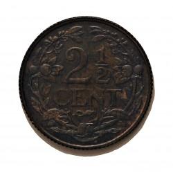 Antillas Holandesas 2,5 Cent. 1959. AE. 4gr. Ø23,5mm. SC. (Tono). KM. 5