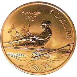 Australia 5  Dolar. 2000. ZN. 20gr. (Olimp.-Remo). Ø39mm. SC. KM. 431