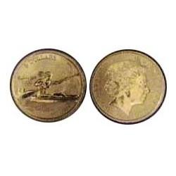 Australia 5  Dolar. 2000. ZN. 20gr. (Olimp.-Kayac). Ø39mm. SC. KM. 377