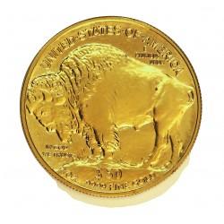 Usa 50 Dolar. 2008. W-(West Point). F. SCM. ESCASO/A. (Onza Indio-Bufalo). AU. 31,105gr. Ley:1,000. Ø32mm. KM. 393