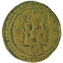 España PELLOFA. 1711. BISBAL DE L'EMPORDA.-LA-(Gi). BC+. Anv: Castillo sobre anillo rodeado de tres estrellas. 1711 a las doce h
