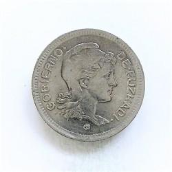 España 1 Ptas. 1937. EUSKADI. EBC+. NI. 4,07gr. Ø22mm. HG. 208