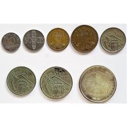España Serie. 1957. *71. SC. (Serie de 8 Valores-FNMT). AG+NI. CT. 147