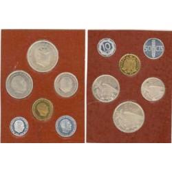 España Serie. 1957. *72. PRF. (Aluminios con muy lev.punto de oxid.). (Cartera 6 Val.FNMT). (El 50 cts.SC.). CUNI. CT. 148