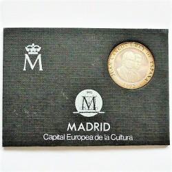 España 200 Ptas. 1992. SC. (Madrid Capital Cultural-Cibeles). MUY ESCASO/A. AG. 12,25gr. Ø25,5mm. HG. 572 - CT. 153