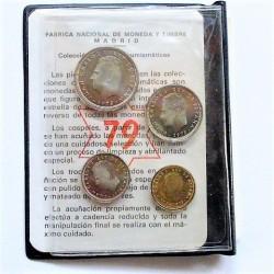 España Serie. 1975. *79. PRF. (Cartera FNMT 4 val.). CUNI. CT. 148