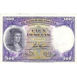 España 100 Ptas. 1931. EBC-/EBC. (Muy nuevo con doblez). (G.F.Cordoba). PIK. 83 - EDF. C10. (Numeracion segun disponibilidad)