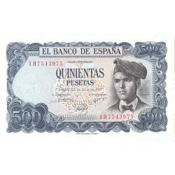 España 500 Ptas. 1971. SC. (Serie 1H-Verdaguer). EDF. D74 a - PIK. 153a