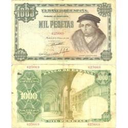 España 1000 Ptas. 1946. BC+/MBC-. (Doblez). (Vives). EDF. D53 - PIK. 133a