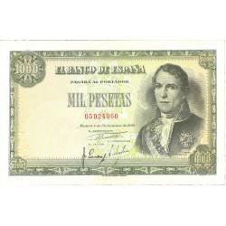 España 1000 Ptas. 1949. EBC/EBC+. (Muy nuevo con doblez.Planchado.Precioso). (Santillan). EDF. D59 - PIK. 138a