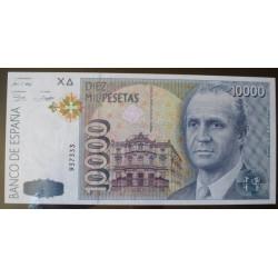 España 10000 Ptas. 1992. SC. (Sin Serie-(J.Carlos). EDF. E11 - PIK. 166