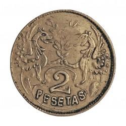 España 2 Ptas. 1900. CASTILLA LA MANCHA (¿?). EBC-