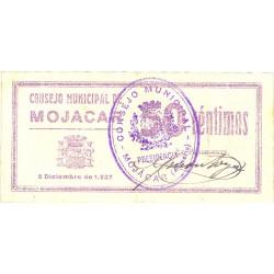 España 50 Cts. 1937. MOJACAR-(CO). SC-. (Inap.marca de doblez y restos de charnela en lateral del rev.). (Consejo). MUY RARO/A