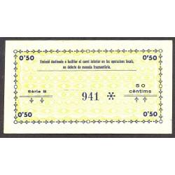 España 1 Ptas. 1937. ALCOVER-(T). SC. (Serie A-Consejo). RARO/A. y mas asi. TU. 108 a - LGC. 90 E