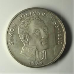 Panama 20 Balboa. 1973. SC. 129,59gr. AG. Ley:0,925. KM. 31. Ø61mm