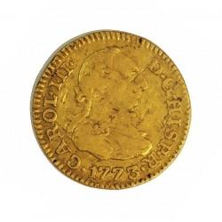España ½ Escudos. 1773. M-(Madrid). PJ. MBC-. AU. 1,69gr. Ø15mm. CT. 693 - KM. 451.1
