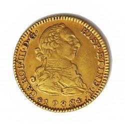 España 2 Escudos. 1788. (M)-Madrid. M. MBC+. AU. 6,767gr. Ø22mm. CT. 364 - KM. 417.1a