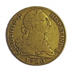 España 4 Escudos. 1780. /79. (M)-Madrid. PJ. MBC-. AU. 13,533gr. Ø29mm. CT. 216 - KM. 418.1 Similar