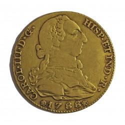 España 4 Escudos. 1788. (M)-Madrid. M. MBC-. AU. 13,5gr. Ø29mm. CT. 224 - KM. 418.1a