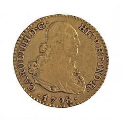 España 1 Escudos. 1793. (M)-Madrid. MF. MBC-. AU. 3,38gr. Ø18mm. AUC. 125 - KM. 434