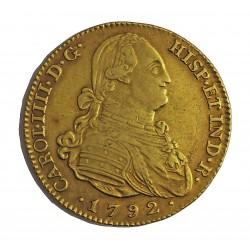 España 4 Escudos. 1792. (M)-Madrid. MF. MBC. (Marquitas). AU. 13,54gr. Ø29mm. CT. 154 - KM. 436.1