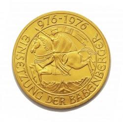 Austria-(y Estados) 1000 Schilling. 1976. SC. (Milenio Dinastia Babenberg). AU. 13,5gr. Ø26mm. KM. 2933