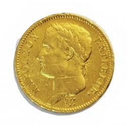 Francia 40 Francos. 1811. A-(Paris). BC+. (marcas de haber estado en cerco). AU. 12,9gr. Ø26mm. KM. 696.1 - GADO. 1084