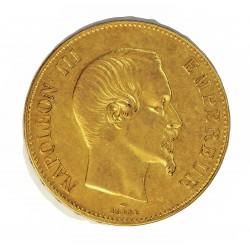 Francia 100 Francos. 1858. A-(Paris). EBC. (Gpcto.). AU. 32,258gr. Ø35mm. KM. 786.1 - GAD. 1135