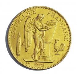 Francia 100 Francos. 1899. A-(Paris). MBC/MBC+. (Lev.marquitas). (Tipo Ingenio). AU. 32,258gr. Ø35mm. KM. 832 - GADO. 1137
