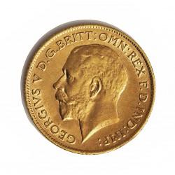 Gran Bretaña ½ Libra/Pound. 1912. Londres. EBC+/EBC. (Rayitas reverso). AU. 3,994gr. Ø19mm. KM. 819 - SPI. 4009