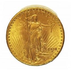 Usa 20 Dolar. 1928. Filadelfia. EBC/EBC+. (Marquitas anv.). (Tipo St.Gaudens). AU. 33,436gr. Ø34mm. KM. 131