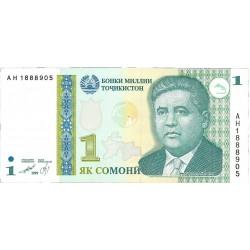 Tajikistan 1. 1. 1999. (2000). SC. PIK. 14