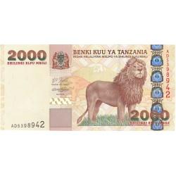 Tanzania 2000. 1. 2003. (s/f). SC. PIK. 37