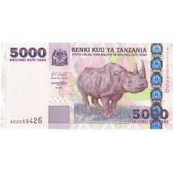 Tanzania 5000. 1. 2003. (s/f). SC. PIK. 38