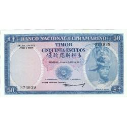 Timor 50. 1. 1967. 21-10. SC. PIK. 27