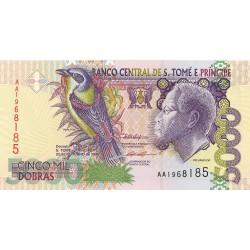 Tome y Principe.-Santo 5000. 1. 1996. 22-10. SC. PIK. 65 a