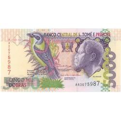 Tome y Principe.-Santo 5000. 1. 2004. 26-08. SC. PIK. 65 b