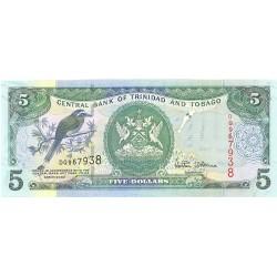 Trinidad y Tobago 5. 1. 2002. SC. PIK. 42