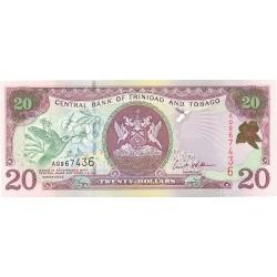 Trinidad y Tobago 20. 1. 2002. SC. PIK. 44