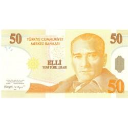 Turquia 50. 1. 2005. SC. PIK. 220