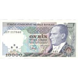Turquia 10000. 1. 1970. L. SC. PIK. 200