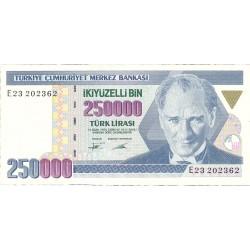 Turquia 250000. 1. 1990. L.-1970/92. SC. PIK. 207